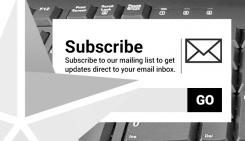 Volunteer newsletter subscription image